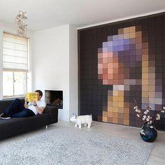 www.wehkamp.nl wonen-slapen woonaccessoires wanddecoratie ixxi-wanddecoratie-girl-with-a-pearl-earring-pixel-160x180-cm C28_8K4_HAZ_907369