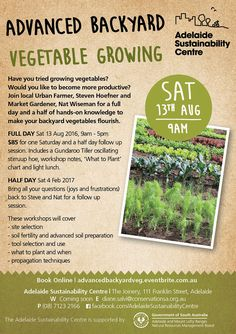 Advanced Backyard Vegetable Growing – ACFCGN