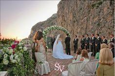 Outdoor wedding in Capri by SposiamoVi.it Italian Wedding Planners