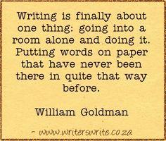 Quotable - William Goldman