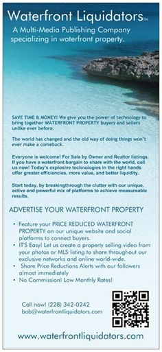 WATERFRONT PROPERTY NEEDED! FOUR of (18) Properties either SOLD - property sales contracts