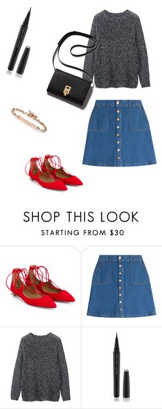 """Modern 60s"" by belledeparis on Polyvore featuring Aquazzura, HUGO, Toast, Marc Jacobs, Hoorsenbuhs, modern, women's clothing, women, female and woman"