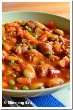 Sausage casserole syn free if you use veggie sausages Slimming World Dinners, Slimming World Diet, Slimming Eats, Slimming World Recipes, Skinny Recipes, Healthy Recipes, Sausage Casserole, Healthy Eating, Healthy Food
