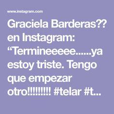 "Graciela Barderas🇦🇷 en Instagram: ""Termineeeee......ya estoy triste. Tengo que empezar otro!!!!!!!!! #telar #taller #tapestrty #wallhanging #murales #tapiz"" Tapestry, Instagram, Art, Murals, Sad, Fabrics, Art Background, Tapestries, Kunst"