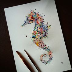 Watercolor_Portraits_Of_Animals_Created_With_Hundreds_of_Multicolored_Dots_by_Ana_Enshina_2015_08