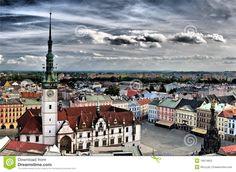 Olomouc City In Czech Republic, a jewel of a Moravian town.