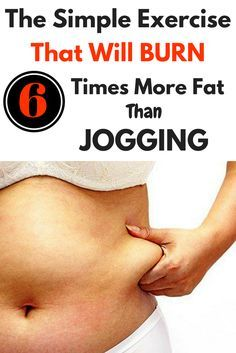 The Simple Exercise That Will Burn 6 Times More Fat Than Jogging http://wp.me/p8kXNw-l1