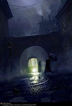 Darkcity by Marcin Jakubowski   2D   CGSociety
