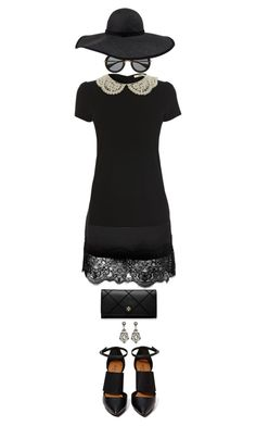 """* Lace Hem Skirt *"" by alice325 ❤ liked on Polyvore featuring Miu Miu, Frette, Oasis, Shoe Cult, Tory Burch, Lanvin, women's clothing, women, female and woman"