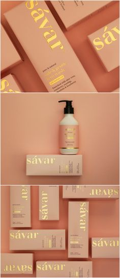 Elevating a Female Wash from a Basic Pharma Product to High-End Lifestyle Design Agency: Redfire Brand / Project Name: Savar Fem Wash Location: New Zealand Category: Health Beauty Cosmetics World Brand & Packaging Design Society 460070918180054836 Foil Packaging, Skincare Packaging, Beauty Packaging, Cosmetic Packaging, Brand Packaging, Product Packaging Design, Product Branding, Feminine Packaging Design, Custom Packaging