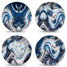 8 Coastal Kitchen Design Ideas Dinner Plate Sets, Dinner Plates, Dinner Ware, Kitchen Design, Kitchen Decor, Plastic Dinnerware, Diy Interior, Interior Design, Plate Design