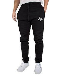 Hype Men's Joggers, Black, £29.95 Mens Joggers, Sweatpants, Hype Clothing, Nice Tops, Script, Bring It On, Fitness, Clothes, Black