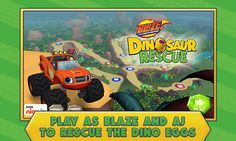 Amazon.com: Blaze and the Monster Machines Dinosaur Rescue: Appstore for Android
