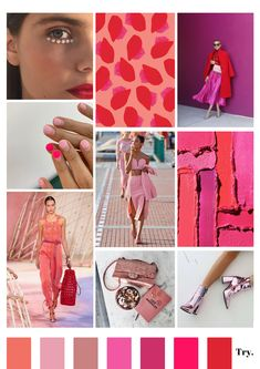 The trend forecasting of tomorrow Fashion Fabric, Fashion Colours, Pink Fashion, Colorful Fashion, Ropa Color Pastel, Moda Zara, Color Combinations For Clothes, Kooples, Fashion Forecasting