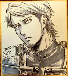 Ereri, Eren Aot, Armin, Attack On Titan Jean, Attack On Titan Fanart, Aot Characters, Anime Character Drawing, Horse Face, Titans Anime