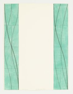 Robert Mangold, Two Columns, pastel and black pencil on paper, 30.25 x 22.5 inches (76.8 x 57.2 centimeters)