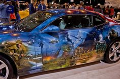 Amazing Car Paint Jobs | It is no secret here that we enjoy cars and amazing paint jobs. Thanks ...