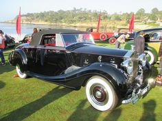 1950 Rolls Royce Silver Wraith H.J.Mulliner Drop Head at Pebble Beach, 2015