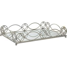 Enjoy This Serving Tray From Allure By Jay Made Glass And