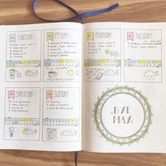 Definitely my favorite spread so far in my #bulletjournal  See this Instagram photo by @creative.pine.apple • 948 likes