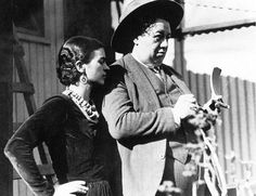 Frida Kahli and Diego Riviera