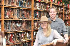 A big change for F.M. Light: Chris and Lindsay Dillenbeck - New Owners! Western Wear Store in Steamboat Springs for Over 100 Years