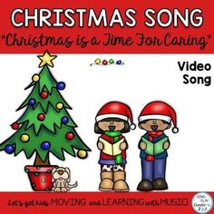 "Christmas Song: ""Christmas is a Time for Caring"" Easy Unison K-3 Kindergarten Music Lessons, Christmas Program, Kids Moves, Child Love, Classroom Activities, Singing, Preschool, Student, Teaching"