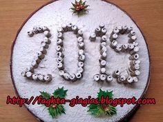 Vasilopita Cake, Cheesecake Cake, Food Decoration, Greek Recipes, All Things Christmas, Ants, Appetizer Recipes, Cake Decorating, Deserts