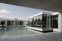 Poolhouse - Vorarlberg, Austria - 2007 - Marte.Marte Architekten