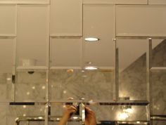 Beveled Mirror Tiles For Walls