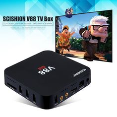 SCISHION V88 Set-top box Tv Android 5.1 Smart TV Box Quad Core 1G/8G 4 K H.265 WiFi Pełni Załadowany 1.5 GHZ Media Player PK A95X X96