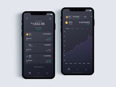 Crypto, wallet for cryptocurrency - Daily UI Challenge 13/365 by Christian Vizcarra - Dribbble