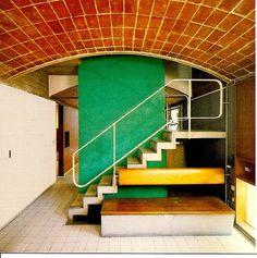 Maisons Jaoul by Le Corbusier, Neuilly-sur-Seine - Paris, 1955.