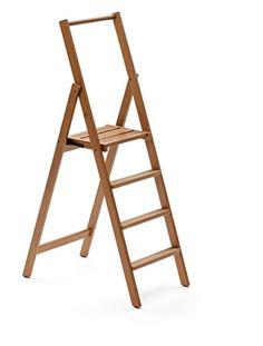 Trittleiter Holz dobar stabiler klapphocker aus fsc holz 2 stufen tritthocker