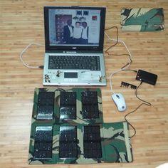 Portable Solar Panel for Laptop