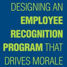 Designing an Employee Recognition Program that Drives Morale | Learn best practices for service awards, peer-to-peer recognition, and successful employee awards in this whitepaper employee recognition #motivation