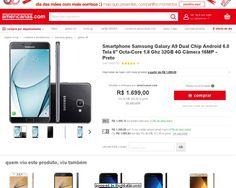 [AMERICANASMOB]Galaxy A9 R$1398,99 CC AMERICANAS