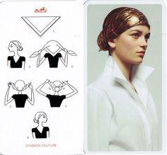 instructions for basic foulard