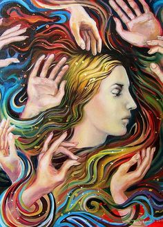 Cosma Shiva  Myhology Goddess Art 5x7 Blank by EmilyBalivet, $5.00