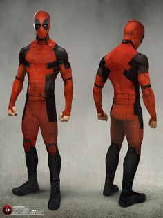 Post with 1657 views. Deadpool Movie Costume Concept Art by Joshua James Shaw Deadpool Movie Costume, Deadpool Cosplay, Deadpool Mask, Marvel Dc, Marvel Comics, Deadpool Images, Deadpool Pictures, Marvel Universe, Wolverine Movie