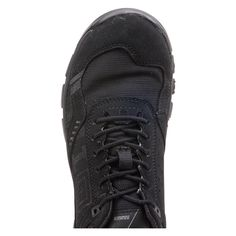 5.11 applies the durable, rugged construction of their tactical boots to an athletic shoe with optimal shock absorption and lightweight comfort. The 5.11 Ranger is a high-performance training shoe with a breathable nylon ripstop, nubuck and polymer mesh upper and a tough rubber outsole for all-terrain training. The cushioned polyurethane midsole provides arch support and heel stability, while the removable OrthoLite insole adds extra cushioning and comfort. There is an 8 millimeter…