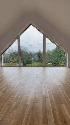 Bungalow Renovation, Attic Renovation, Loft Design, Modern House Design, Architecture Details, Interior Architecture, Casa Loft, Small Room Design, Loft Room