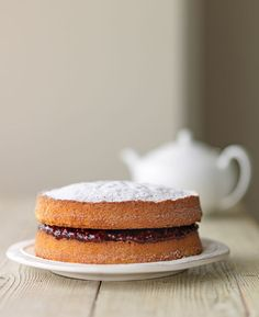 """in-my-mouth: """" Victoria Sponge Cake """""""