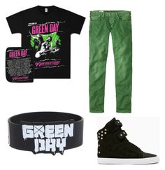 green day by amy-batman-cooper on Polyvore featuring polyvore fashion style Hot Topic Pepe Jeans London clothing