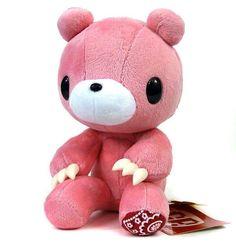 "GLOOMY BEAR - 8"" Pink Plush TAITO Japan Kawaii PRIZE Moti Chack Prize Rare"