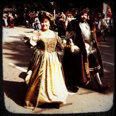 Der Ritter vom 50-Mark-Schein und seine Frau