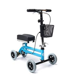 the 45 best mobility aids images on pinterest chairs mobility Wheelchair Headrest Accessories kids knee walker child knee scooter pediatric crutches alternative in light blue kneerover
