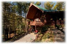 Wears Valley Cabin -If You Like Privacy in the Woods.  Motorcycle friendly
