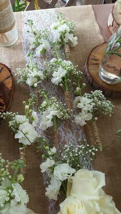 Botoniers boda vintage