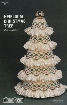 Online catalog featuring fine laces, fabrics, patterns and supplies for heirloom sewing, smocking, and bridal Christmas Tree Pattern, Crochet Christmas Ornaments, Beaded Ornaments, Christmas Crafts, Christmas Ideas, Smocking Plates, Smocking Patterns, Fabric Crafts, Sewing Crafts